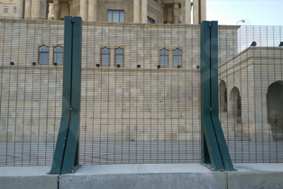03_358 anti-climb fence project,European Games in Baku Azerbaycan