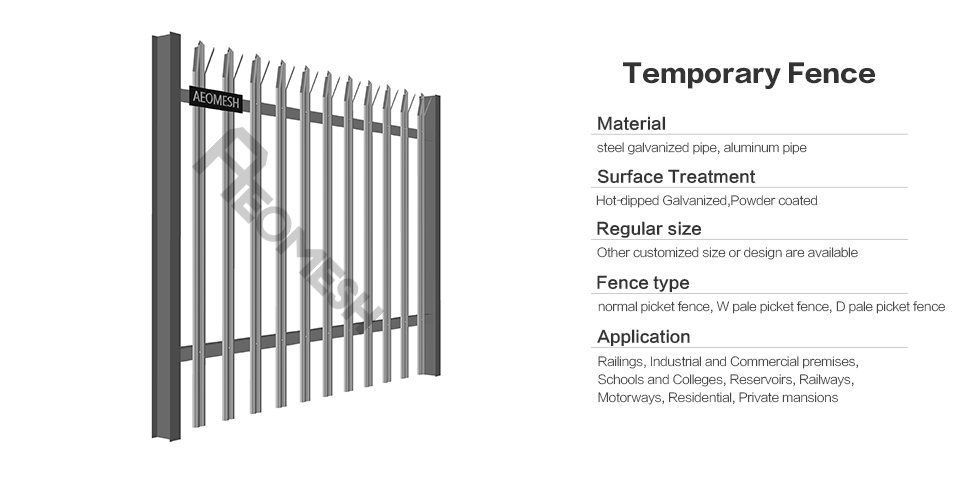 Palisade Fence / Picket Fence